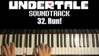 Undertale OST - 32. Run! (Advanced Piano Cover)