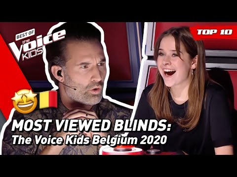 TOP 10 | MOST VIEWED Blind Auditions Of 2020: Belgium 🇧🇪  | The Voice Kids