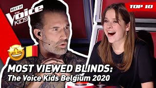 Baixar TOP 10 | MOST VIEWED Blind Auditions of 2020: Belgium 🇧🇪  | The Voice Kids