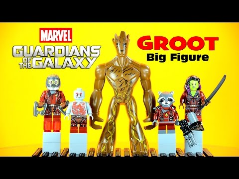 LEGO Guardians Of The Galaxy - GROOT KnockOff Big Figure