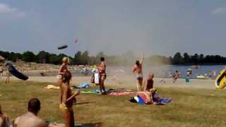 mini tornado @ stroombroek beach