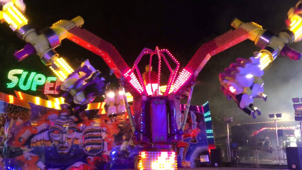 Sedgwick's Super Spin - Experience - Nottingham a Goose Fair 2014