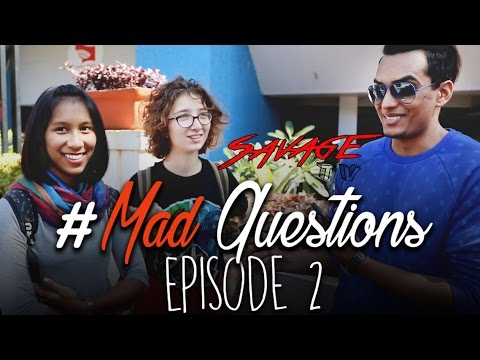Mad Questions | Episode 2 | Law College Road | Symbiosis | Pune | #SavageTV