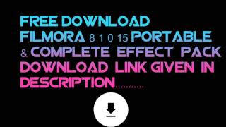 filmora 9 torrent and complete effect pack download link updated 22/06/2019