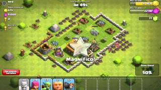 Clash of Clans - batalha online contra ned - gameplay #9