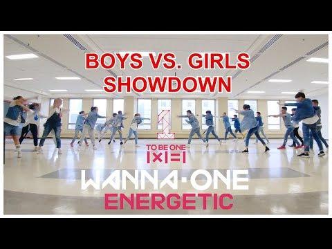 [EAST2WEST] Wanna One (워너원) - 에너제틱 (Energetic) Boys Vs. Girls Showdown (2/3)