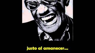 Ray Charles  -  A Fool For You subtitulado