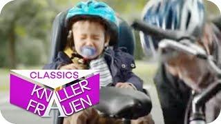 So hört euer Baby auf dem Fahrradsitz auf, zu schreien