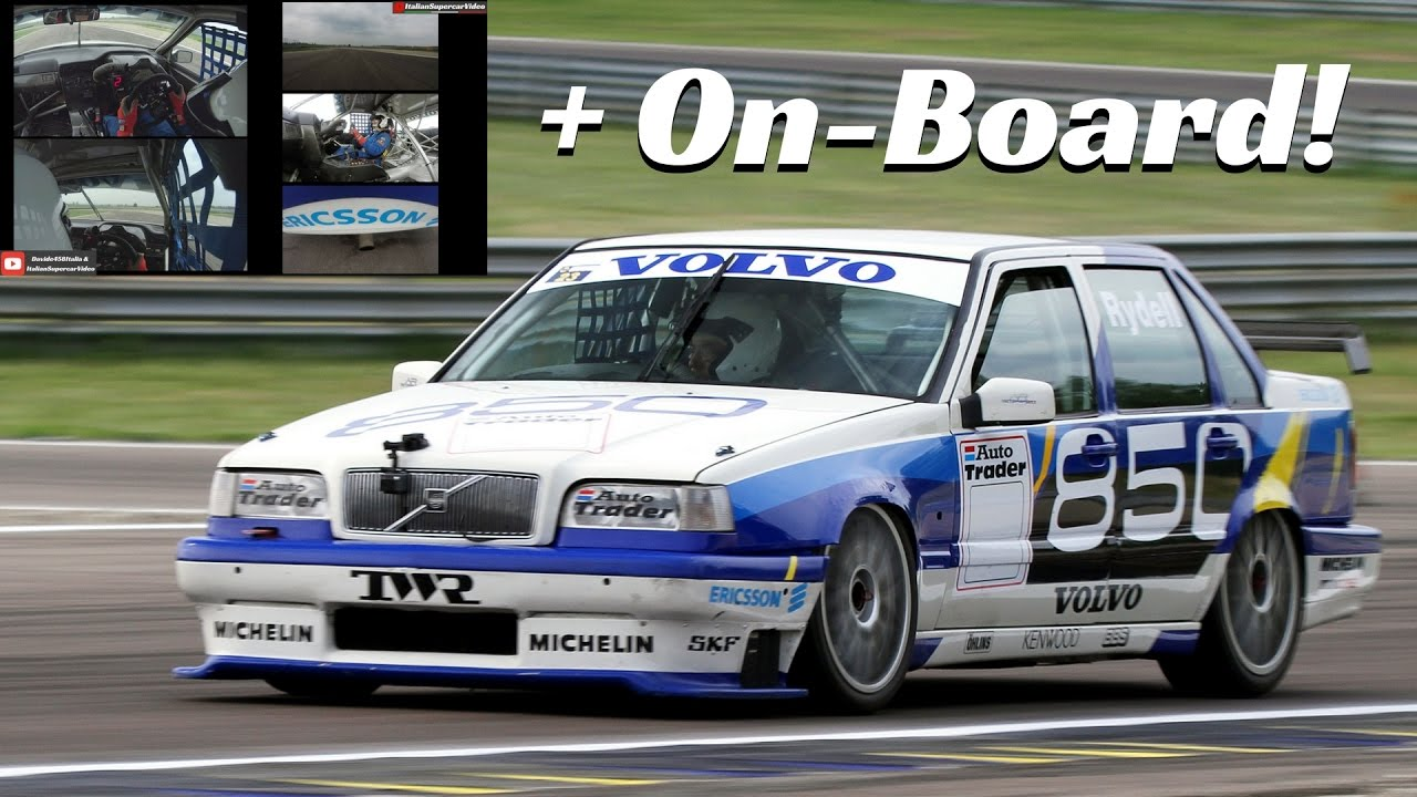 Volvo 850 BTCC ex Rydell - Outside Actions & Exclusive ...