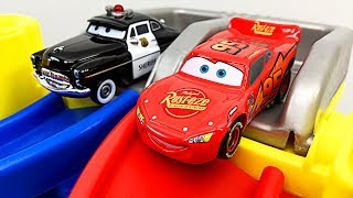 Disney Cars Spiral Speedway Racing for Kids Best Toddler Learning Colors Toy Car Racing for Children