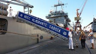 visita aos navios de guerra da marinha do brasil no porto de salvador bahia 12 06 2016