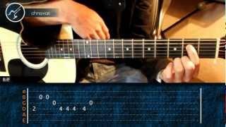 "Como tocar ""Aléjate De Mi"" de Camila - Tutorial Guitarra (SIN CAPO)"