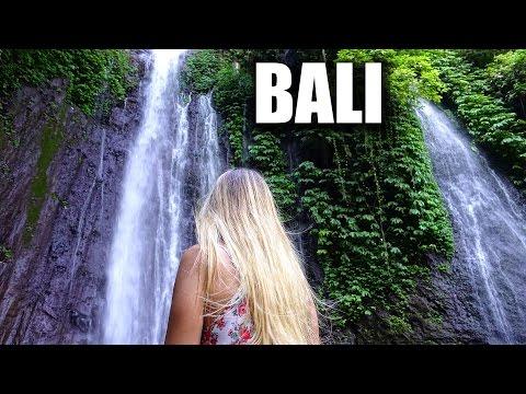Geheimer Wasserfall und der Norden Balis - Backpacking Indonesien   VLOG #131