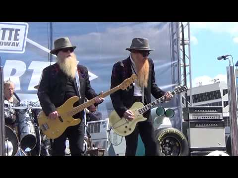 ZZ Top plays the 2015 Coca Cola 600 at Charlotte Motor Speedway