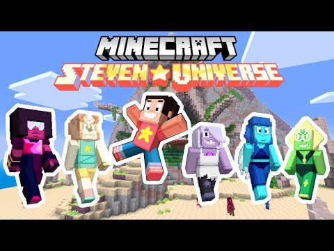 STEVEN UNIVERSE IN MINECRAFT BEDROCK EDITION!!! | Minecraft Steven Universe Resource Mashup Pack