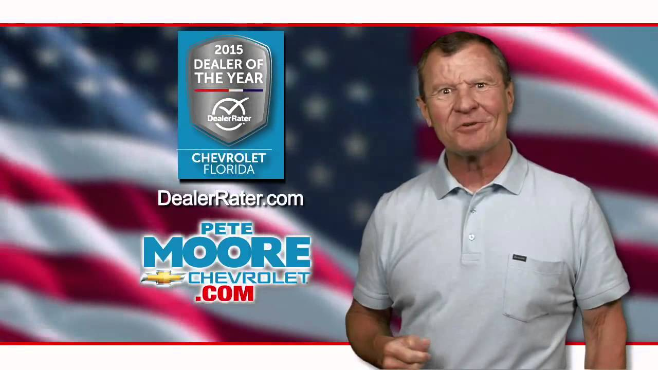 pete moore chevrolet - youtube