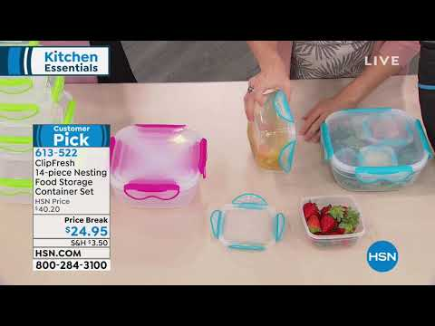 clipfresh-14pc-nesting-food-storage-container-set-with-i...