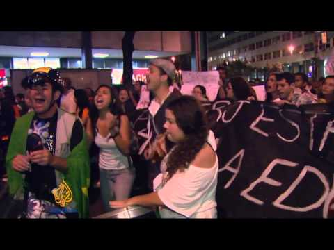 Teachers' protest in Brazil turns violent