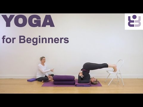 Halasana Tutorial. Instruction for Beginners to Plough Pose. Yoga for Beginners. Subtitles.