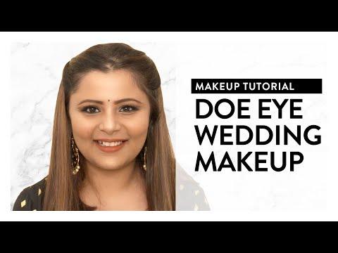 Doe Eye Wedding Makeup Tutorial