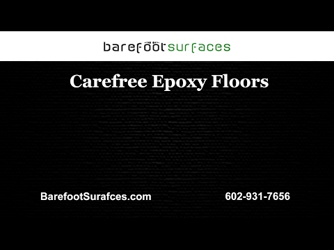 Carefree Epoxy Floors | Barefoot Surfaces