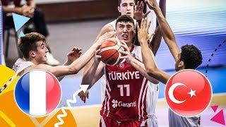 LIVE 🔴 -  France v Turkey - 3rd Place - FIBA U16 European Championship 2018