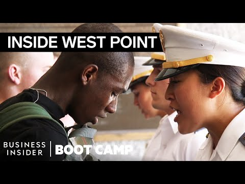 What New Army Cadets Go Through On Their First Day At West P