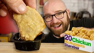 McDonalds PLANT BASED ChickUN McNuggets Recipe!