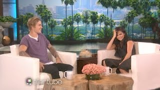 Video Justin Bieber And Selena Gomez on Ellen 2017 download MP3, 3GP, MP4, WEBM, AVI, FLV Desember 2017