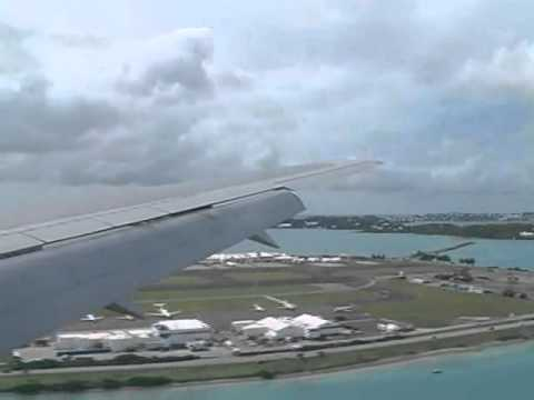 American Airlines 688. New York To Bermuda.