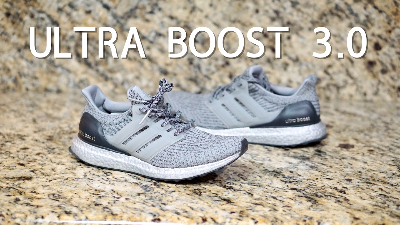 the best attitude 41322 d64e1 Review #40: Adidas UltraBoost 3.0 (Super Bowl) BA8143 2017