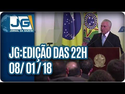 Jornal da Gazeta - Edição das 10 - 08/01/2018