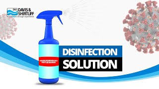 Chlorine Disinfectant Solution DIY