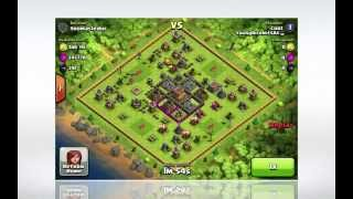 Clash of Clans awesome loot raids!!