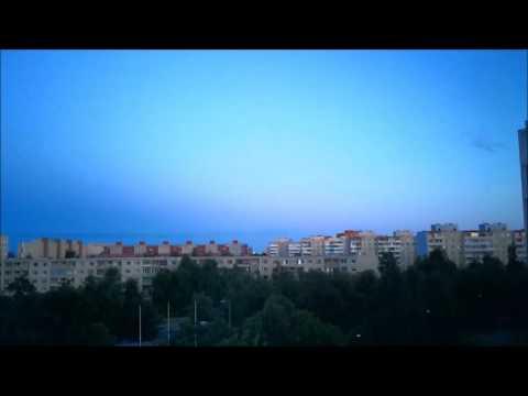 восход солнца летом (западное полушарие)
