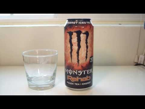 "TPX Reviews - ""Monster Energy: Rehab (Peach Tea)"""