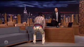 Jared Leto Dancing With Jimmy Fallon