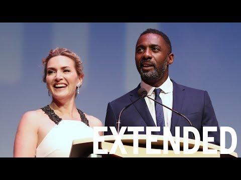 Kate Winslett Says Idris Elba Sucks At Survival | TIFF EXTENDED