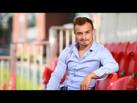 Xherdan Shaqiri speaks after joining Stoke City