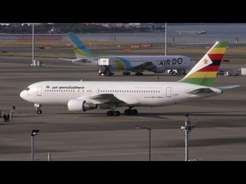 VIP Flight of Zimbabwe (Z-WPF / Boeing 767-2N0/ER / AZW/UM /