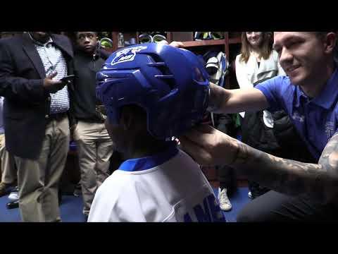 UMass Boston Men's Hockey Team Impact Signing Day Ceremony (12/12/19) Highlights