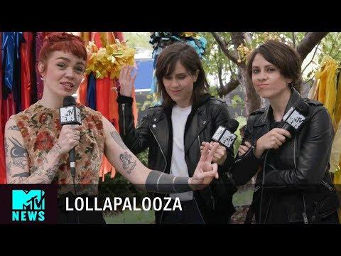 Tegan and Sara on Lorde & Female Headliners at Lollapalooza 2017 | MTV News
