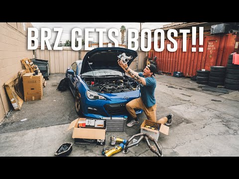 TURBO CHARGING THE BRZ! *GReddy Install*