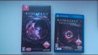 Biohazard Revelations NINTENDO SWITCH