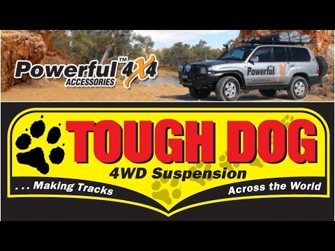 Tough Dog RTC Damper Return to Centre : Powerful 4x4 Suspension