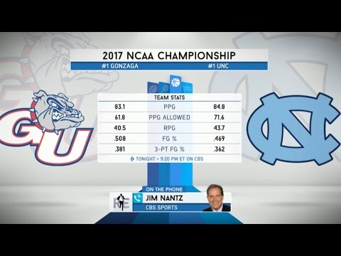 Jim Nantz of CBS Sports on The NCAA Basketball Title Game & More - 4/3/17