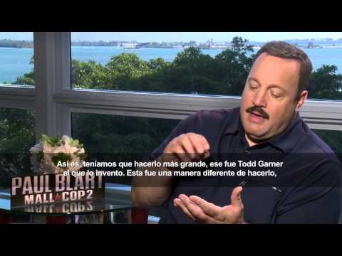 Paul Blart MALL COP 2 - Interview with Kevin James and Eduardo Verastegui