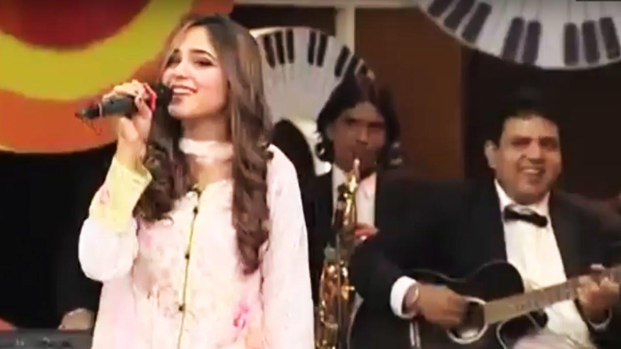 Aima Baig Beautiful Song in Mazaaq Raat - Dunya News