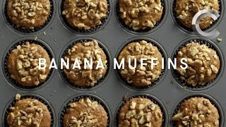 How to Make Weed Banana Muffins