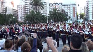 """""""Marcha de San Lorenzo"""" Fanfarria Militar del Alto Perú - Granaderos en Mar del Plata [2012-NOV-23]"""